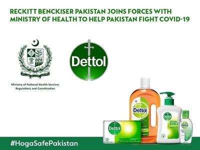 RECKITT BENCKISER PAKISTAN AND MINISTRY OF HEALTH FIGHT COVID-19