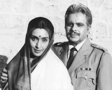 Dilip Kumar and Nutan