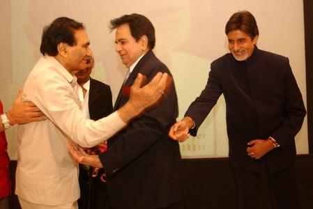 Dilip Kumar, BR Chopra and Amitabh Bachchan