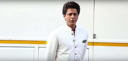 Shah Rukh Khan on the sets of Dance Plus