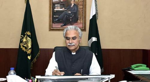 SAPM Dr. Zafar Mirza Tests Positive for Covid 19