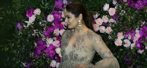 How Raveena Tandon Shot During the Pandemic!