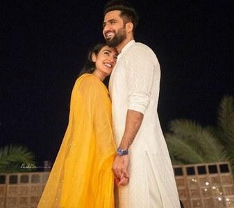 Congratulations Are In Order for Sarah Khan & Falak Shabir!