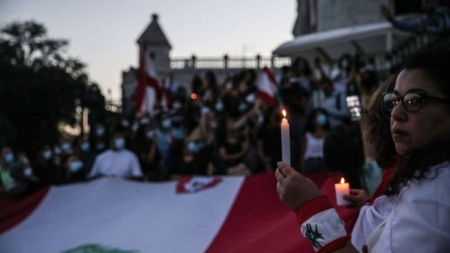 Solidarity Stand in Paris via Mohammed Badra/EPA
