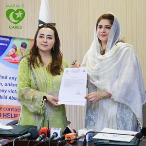 Maria B. Signs MOU with Child Protection & Welfare Bureau Lahore