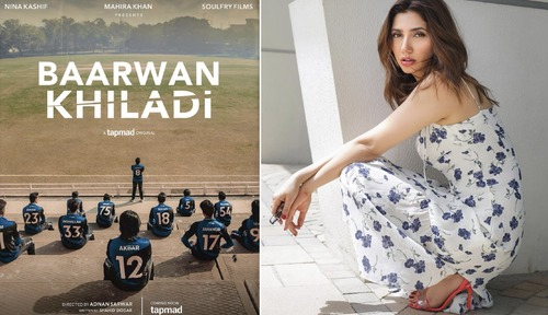 Mahira Khan Takes on Production With 'Baarwan Khiladi'