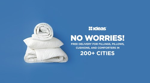 Ideas Home Fillings & Comforters Now Available for Home Delivery