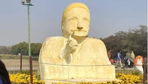 Allama Iqbal's Sculpture in Lahore Has Been Removed
