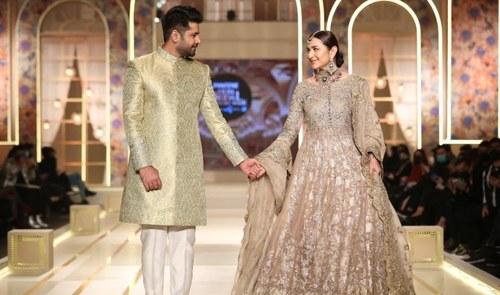 Umsha by Uzma Babar's 'Zeenat' Debuts at Hum Bridal Couture Week