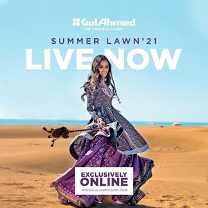 GulAhmed Summer Lawn Collection 2021 Is Now LIVE and Fabulous!