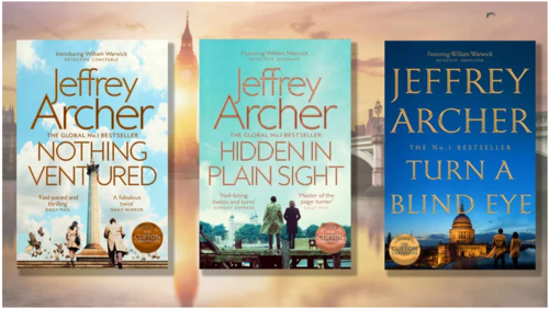 Jeffrey Archer's Latest Detective Story