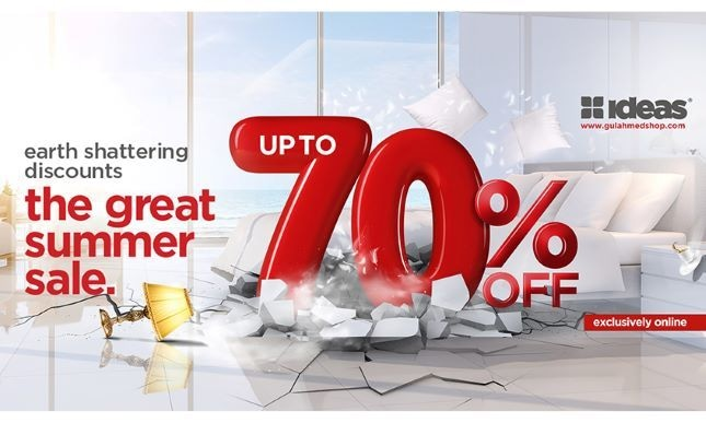 Welcome To The Great Summer Sale by Gul Ahmed and Ideas