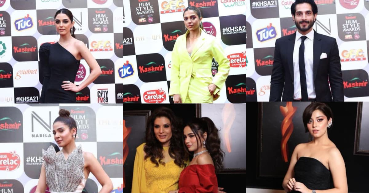 Red Carpet Report: Best Dressed at Hum Style Awards 2021