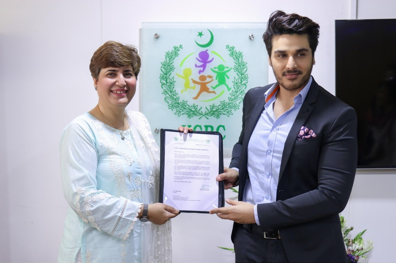 Ahsan Khan Appointed as Goodwill Ambassador for NCRC