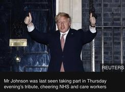 British Prime Minister, Boris Johnson Tests Positive For Covid-19