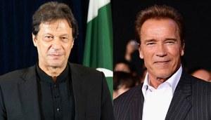 Arnold Schwarzenegger calls Imran Khan a 'Climate Action Hero'