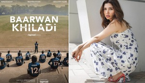 Mahira Khan Takes on Production With 'Baarwan Khiladi'