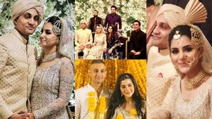 Cricketer Weds Actress - A 'Match' Made In Heaven