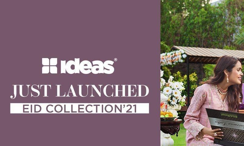 Share the joys of Eid this year with Ideas Festive Collection