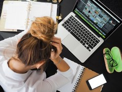 The Darker Side of Online Learning