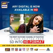 ARY Digital shifts to High Definition