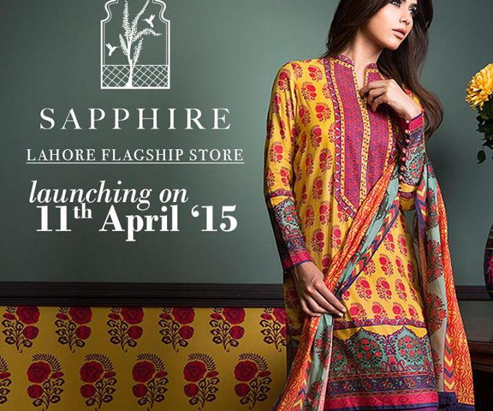 Sapphire opens doors to their Flagship Store in Lahore