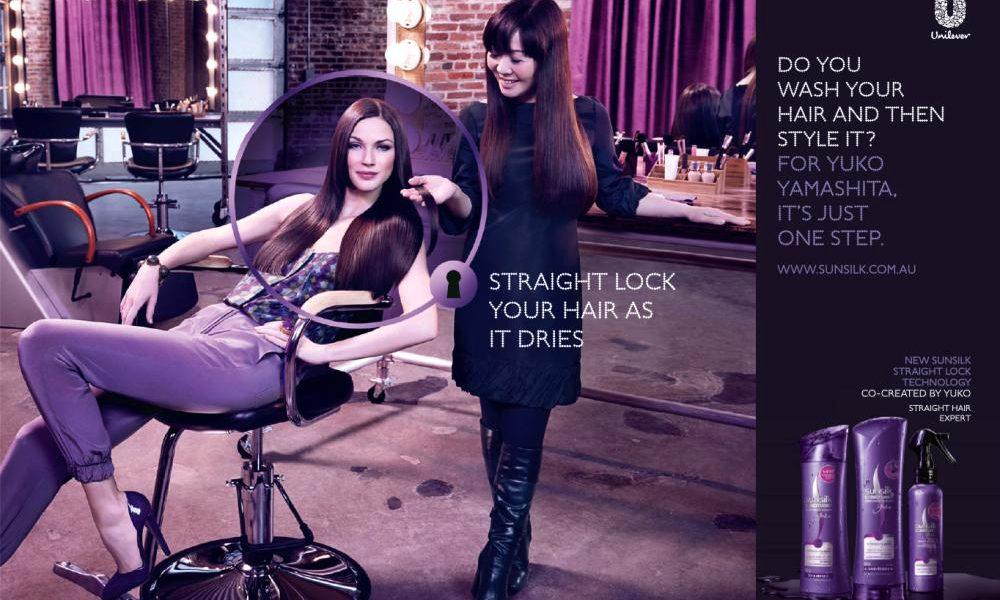 Sunsilk Co-Creations Perfect Straight Range by Yuko