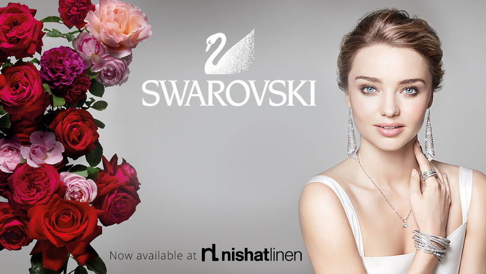 Swarovski Crystal Garden Collection at Nishat Linen
