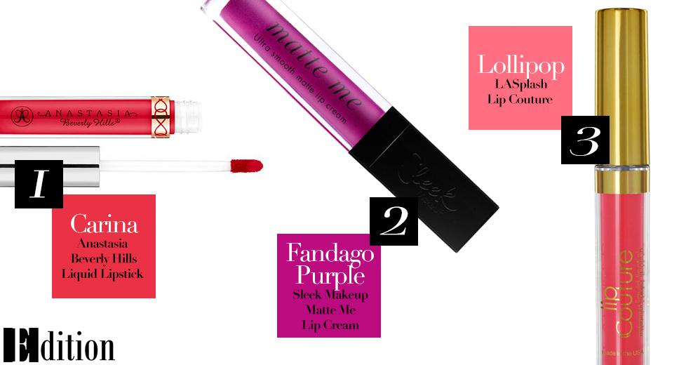 Summer lips - liquid lipsticks