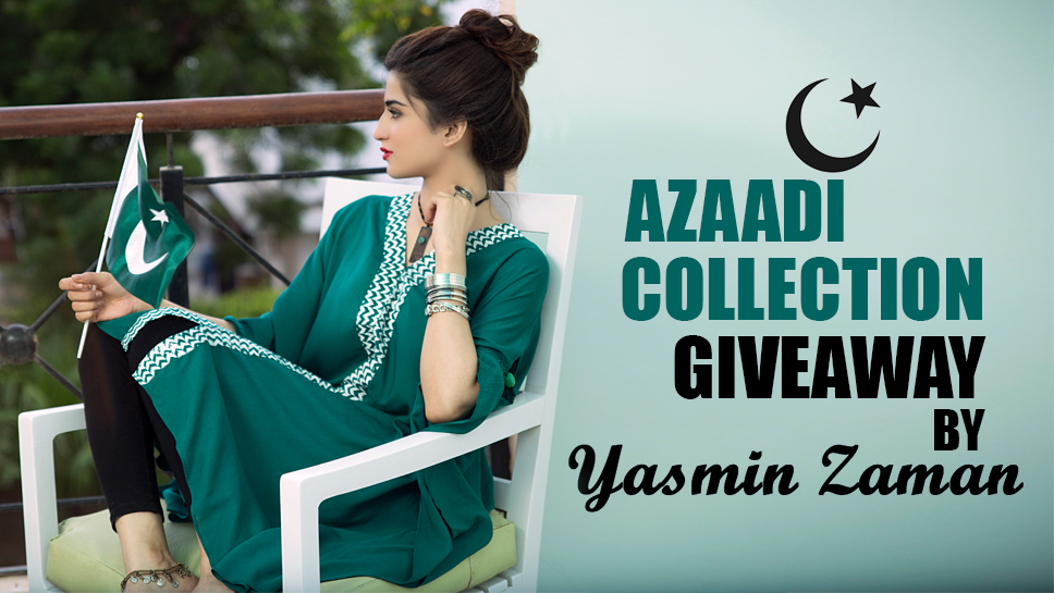 Azaadi Collection Giveaway by Yasmin Zaman