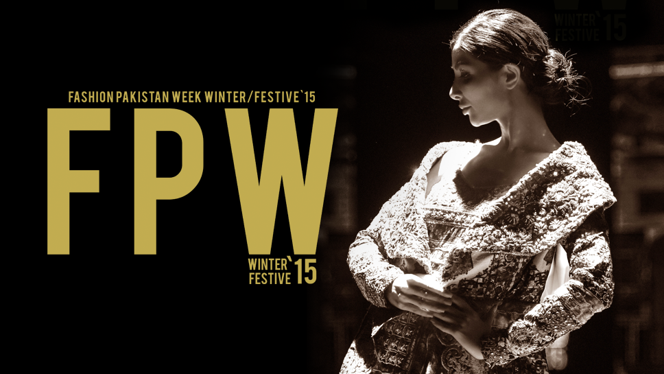 Fashion Pakistan Week Winter / Festive '15 announced