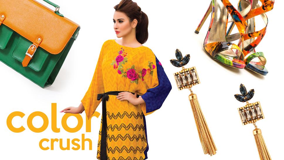 Color Crush: Mustard