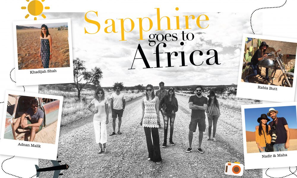 Sapphire goes to Africa