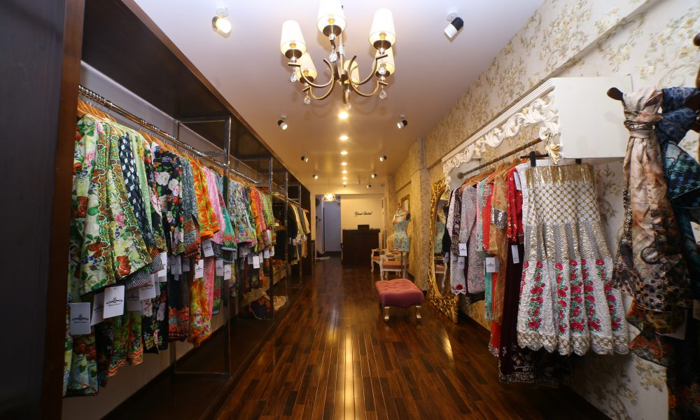 Zohaib Qadeer's store launch in Karachi