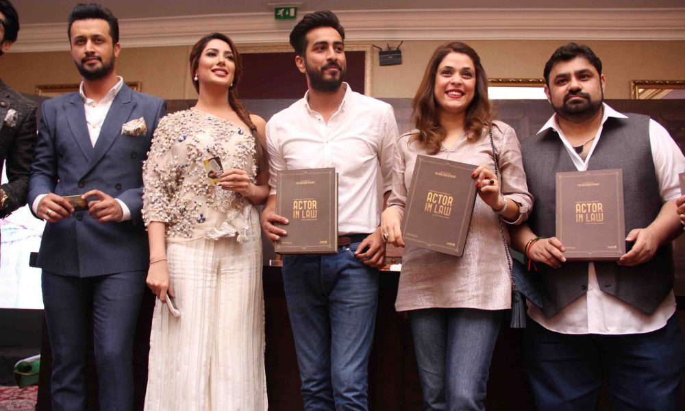 Atif Aslam Launches the OST of Actor In Law