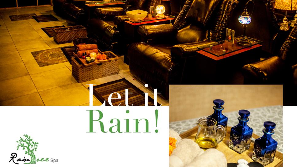 Let it Rain at Rain Tree Spa