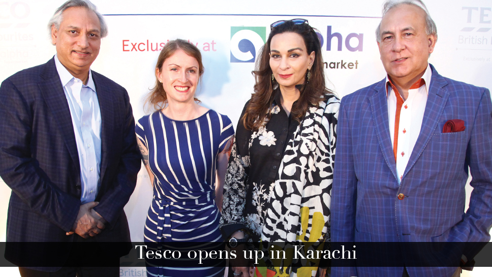 Tesco opens up in Karachi