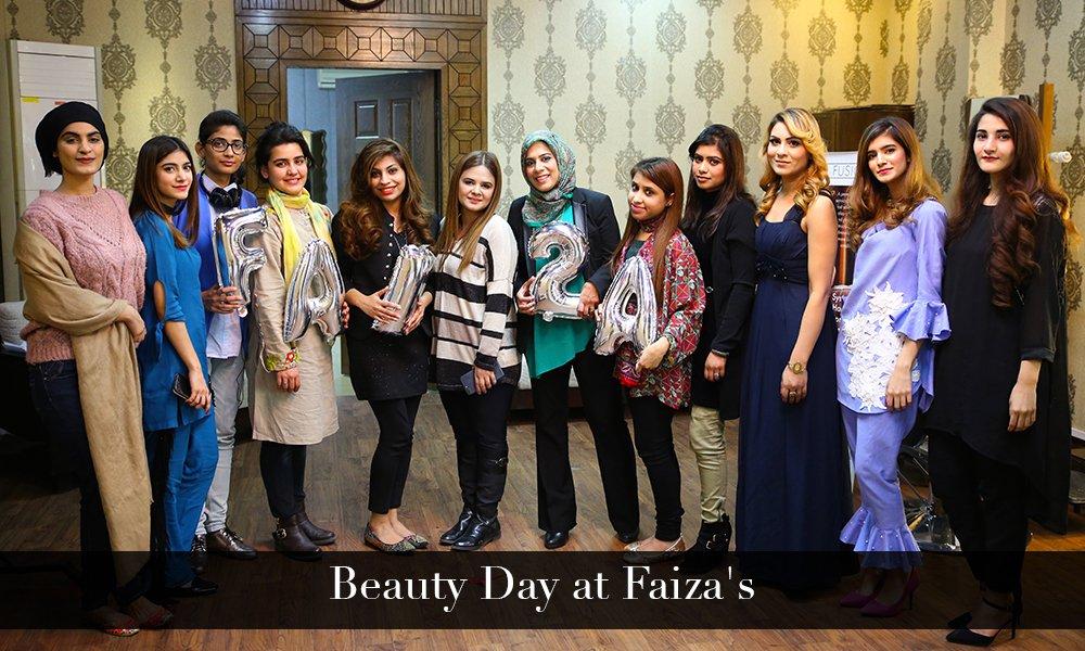 Beauty Day at Faiza's
