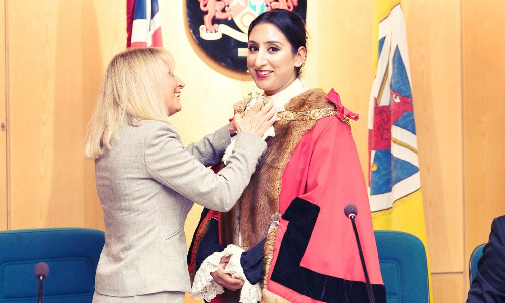 Meet Sophia Choudhary: the first & youngest Asian female Mayor in Hampshire