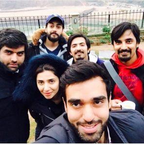 Mahira Khan's Verna BTS