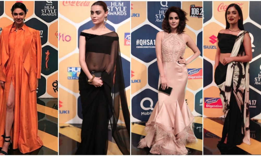 The best of QMobile Hum Awards 2017 fashion