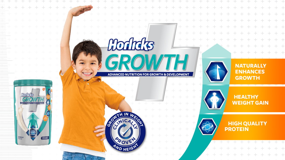 A healthy way to weight gain for kids: Horlicks Growth+