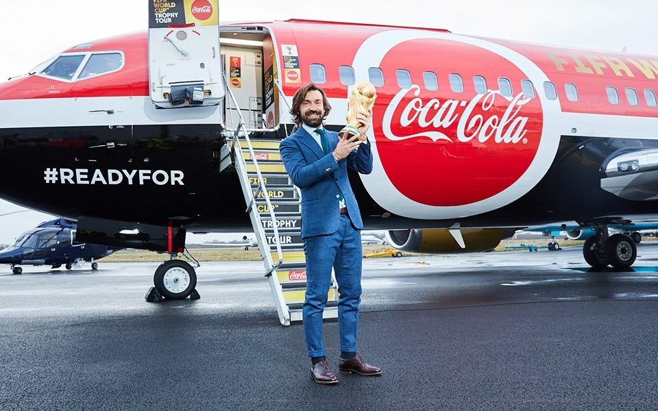 FIFA trophy comes to CokeFest
