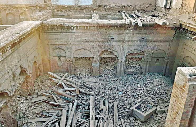 Guru Nanak Palace Or Pre Partition Building?