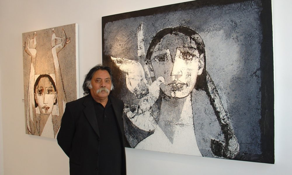 Jamil Naqsh's Paintbrushes Put To Rest