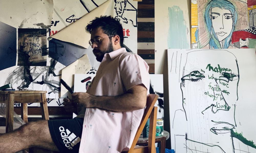 Tête-à-tête with artist Asad Kamran