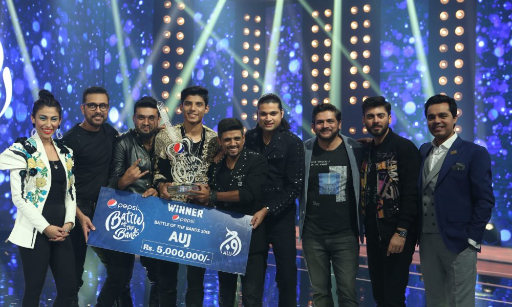 Auj Wins Pepsi Battle Of The Bands Season 4