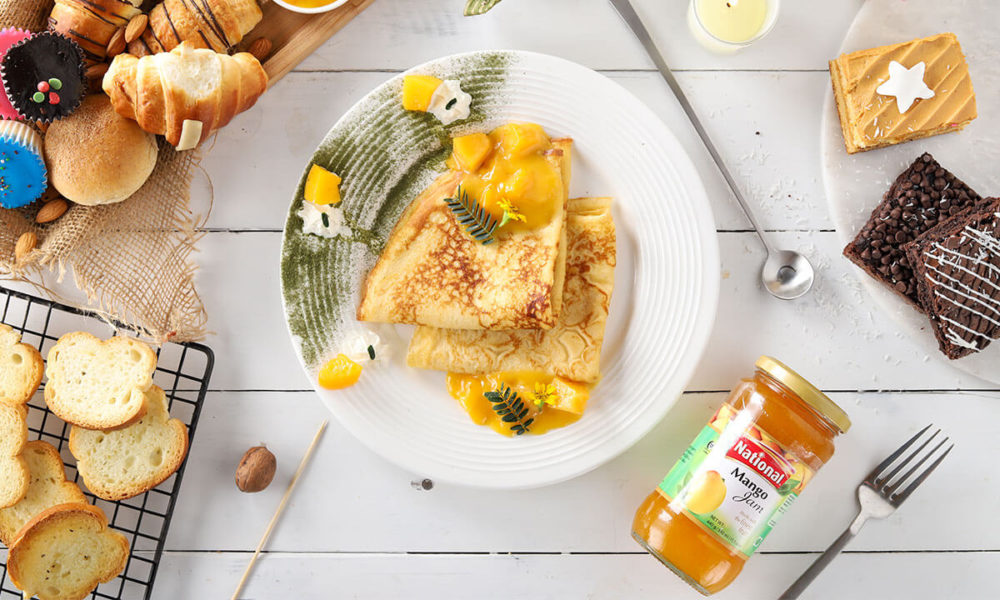 Edition's Recipe of the Day – Mango Crepes & Suzette