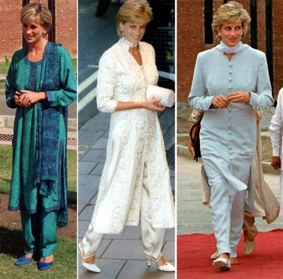 7 Times Lady Diana Wore The Shalwar Kameez & Looked Amazing!