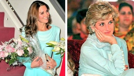 Then & Now – Lady Diana & Kate Middleton